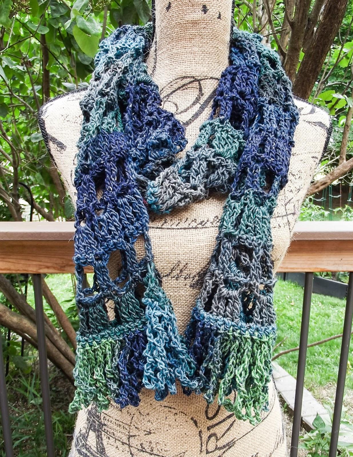 Gossamer Tangles: Colosseum Scarf - A Crochet Scarf for All Seasons ...