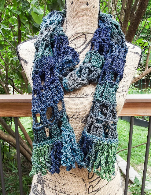 Colosseum Scarf - A Crochet Scarf for All Seasons - Free Pattern