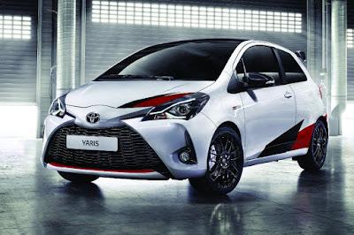 Toyota Yaris GRMN (2018) Front Side
