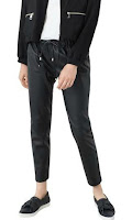 Pantalon Similicuir Mango Outlet