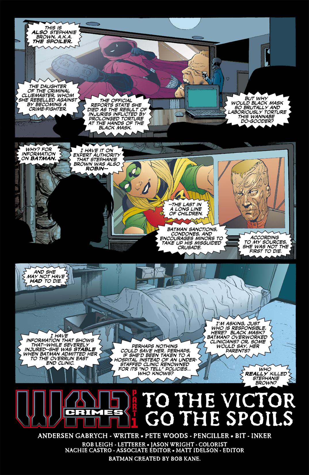 Detective Comics (1937) 809 Page 6