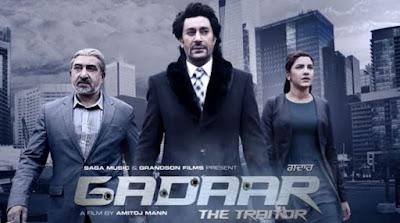 Gadaar The Traitor 2015 Punjabi 720p DVDRip 900mb ESub punjabi movie the gadaar the traitor dvd rip 720p free download or watch online at https://world4ufree.ws