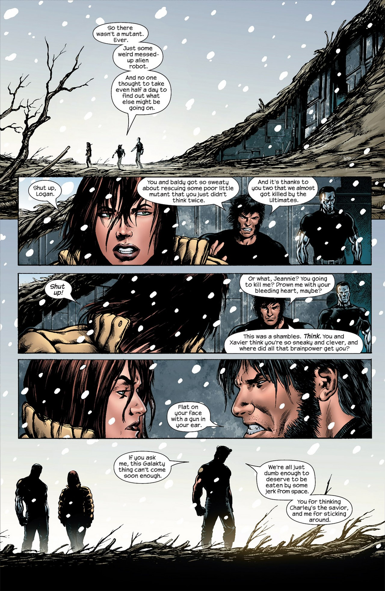 Read online Ultimate Nightmare comic -  Issue #5 - 21