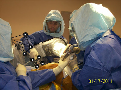 Makoplasty knee surgery with Dr. Stefan Tarlow and his team