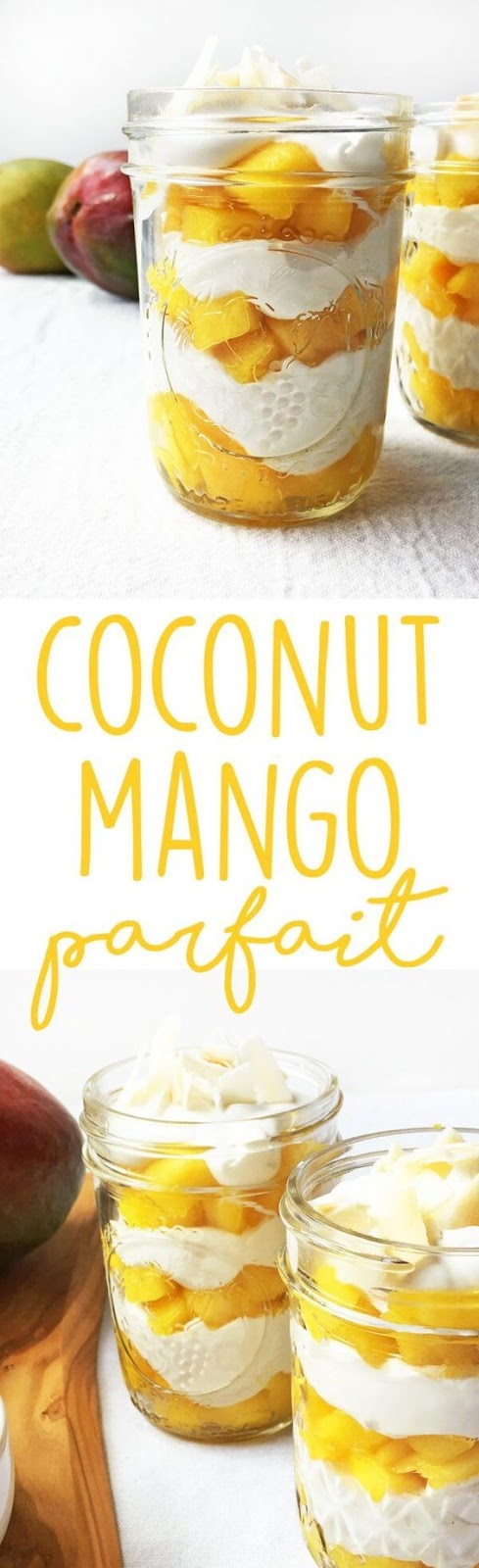COCONUT MANGO PARFAIT