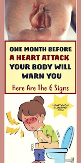 -One Month Before Heart Attack, Your Body May Warn You With These 8 Signs!!-