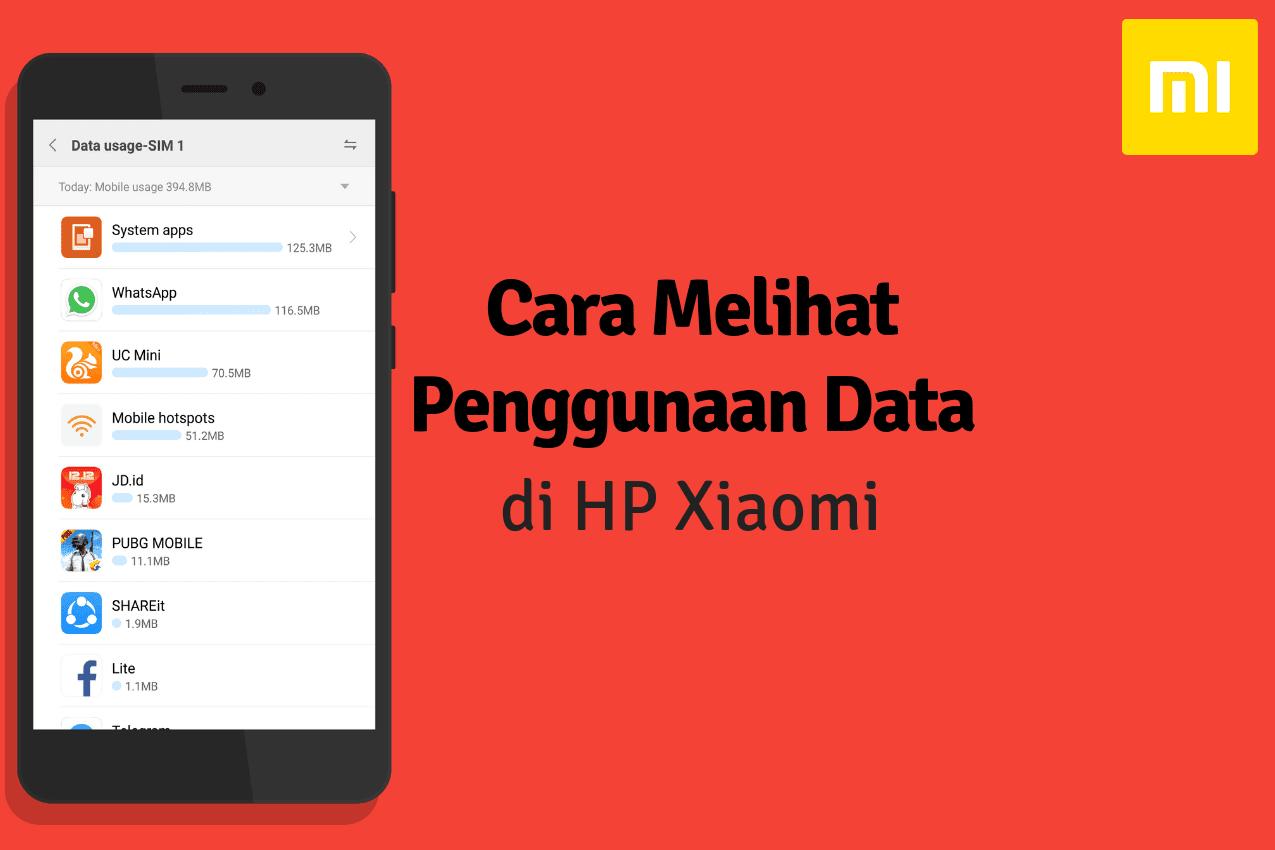 Cara Mengecek Kuota yang Terpakai di HP Xiaomi
