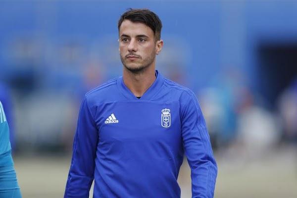 Oviedo, Sergio Tejerá será baja ante el Málaga