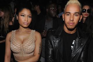 Lewis Hamilton And Nicki Minaj