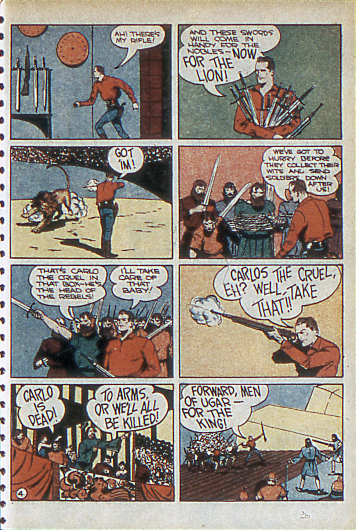 Read online Adventure Comics (1938) comic -  Issue #55 - 36