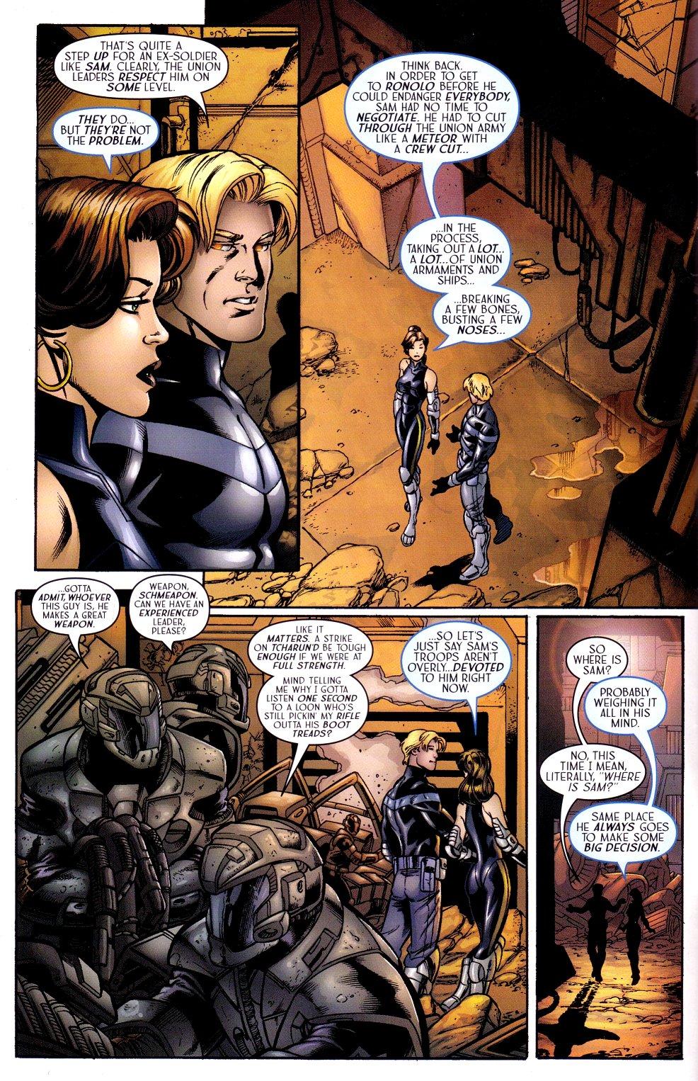 Read online Sigil (2000) comic -  Issue #15 - 4