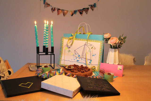 Geburtstagstisch Ferrero Torte Nutella kinder Jules kleines Freudenhaus