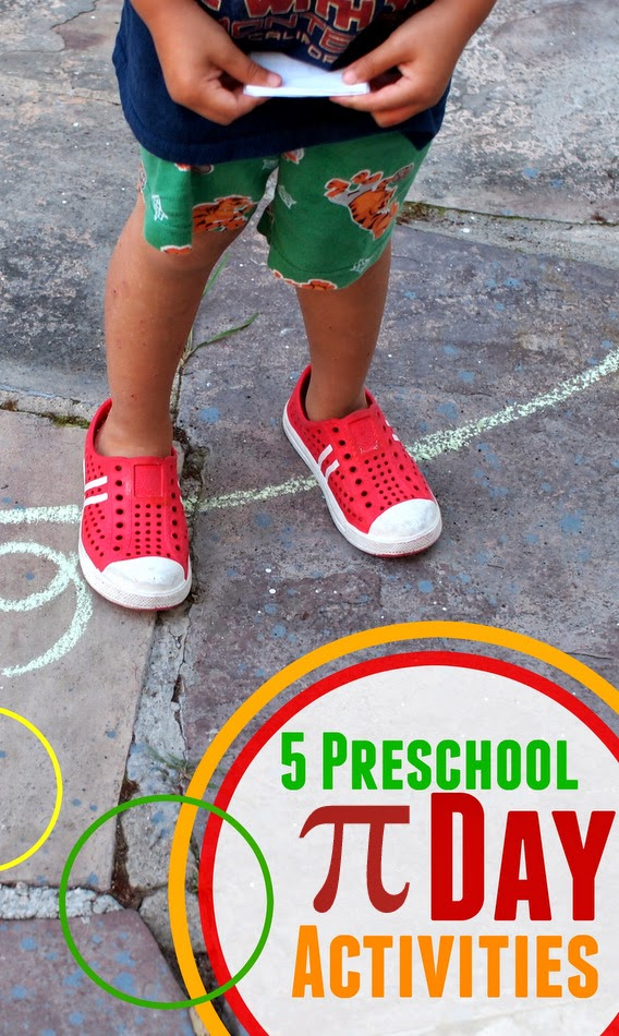 5 fun Preschool pi Day Activities