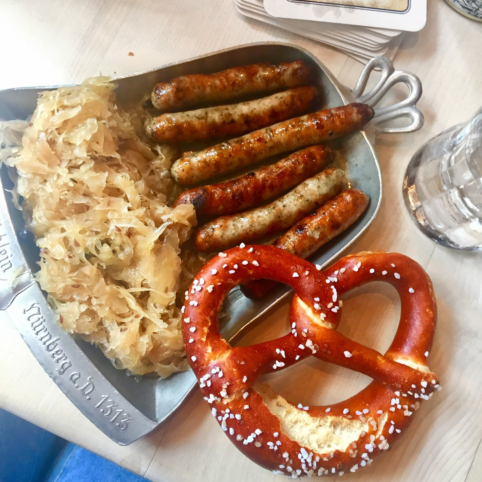 Typical German food