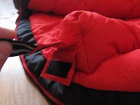 Reflective Stripes in Mammut Sleeping Bag
