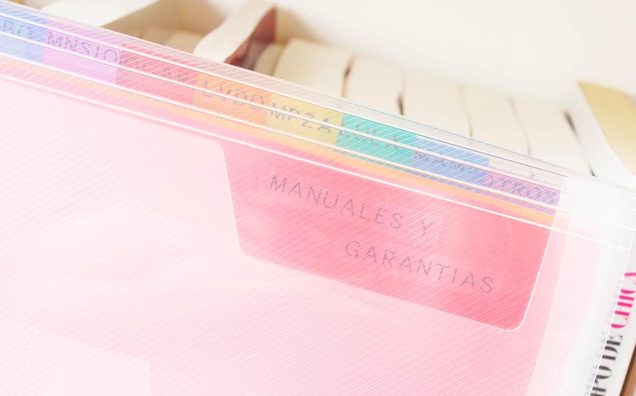 como_organizar_manuales_garantias_forma_manera_sencilla_facil_rapida
