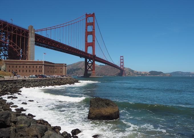 San Francisco Travel Diary Golden Gate Bridge Alcatraz