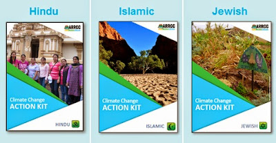 Climate change action guides for the Hindu, Islamic and Jewish faith communities