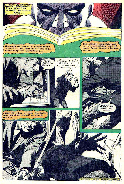 Strange Adventures v1 #210 dc 1960s silver age comic book page art by Neal Adams