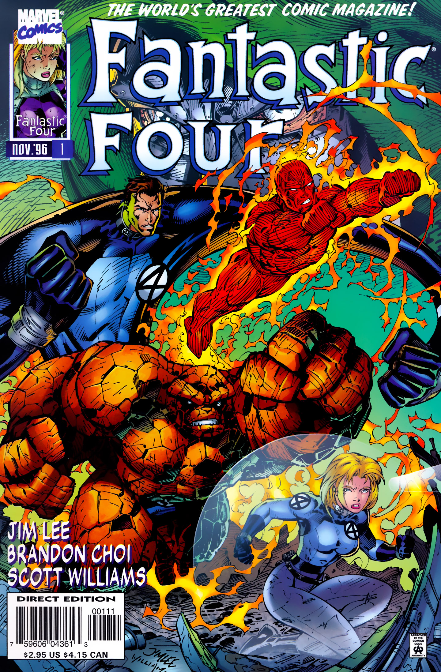 Fantastic Four (1996) 1 Page 1