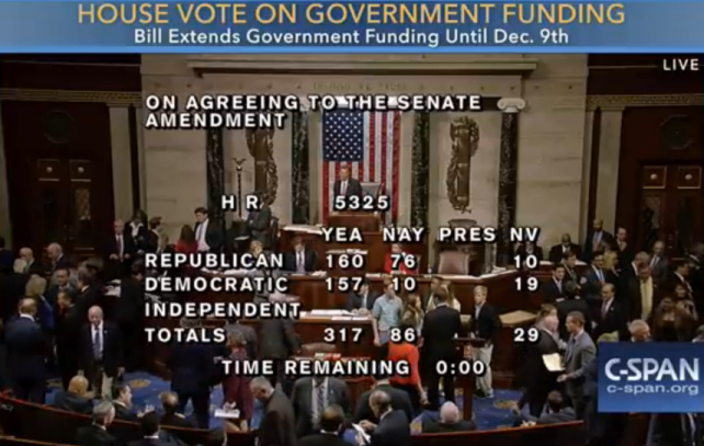 House Vote on Government Funding | c-span.org