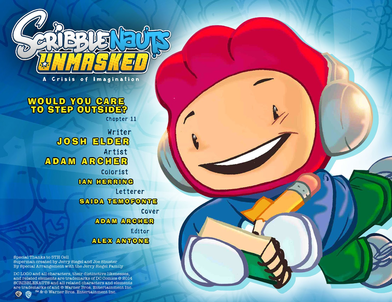 Comic Scribblenauts Unmasked: A Crisis of Imagination issue 11