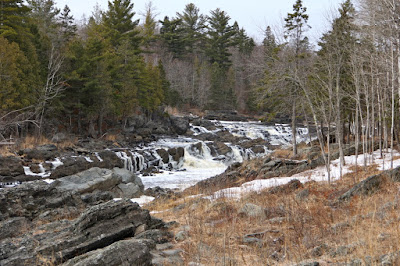 St. Louis River, downstream of a proposed mine, upstream of Lake Superior
