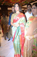 Shriya Saran Looks Stunning in Silk Saree at VRK Silk Showroom Launch Secundrabad ~  Exclusive 167.JPG