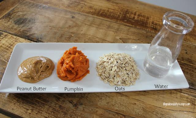 Oatmeal Pumpkin Round Dog Treats