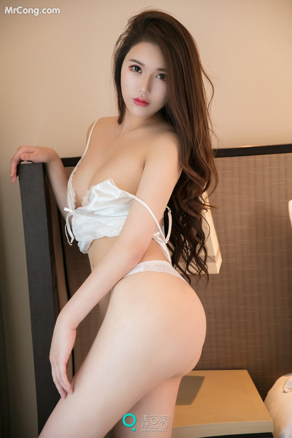 Image QingDouKe-2017-10-14-Rou-Dan-MrCong.com-002 in post QingDouKe 2017-10-14: Người mẫu Rou Dan (肉蛋) (54 ảnh)