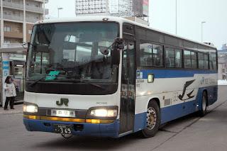 JRバス東北 J647-04408 青森200か369 日野セレガR KL-RU4FSEA