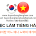 Việc Làm Tiếng Hàn tại Việt Nam