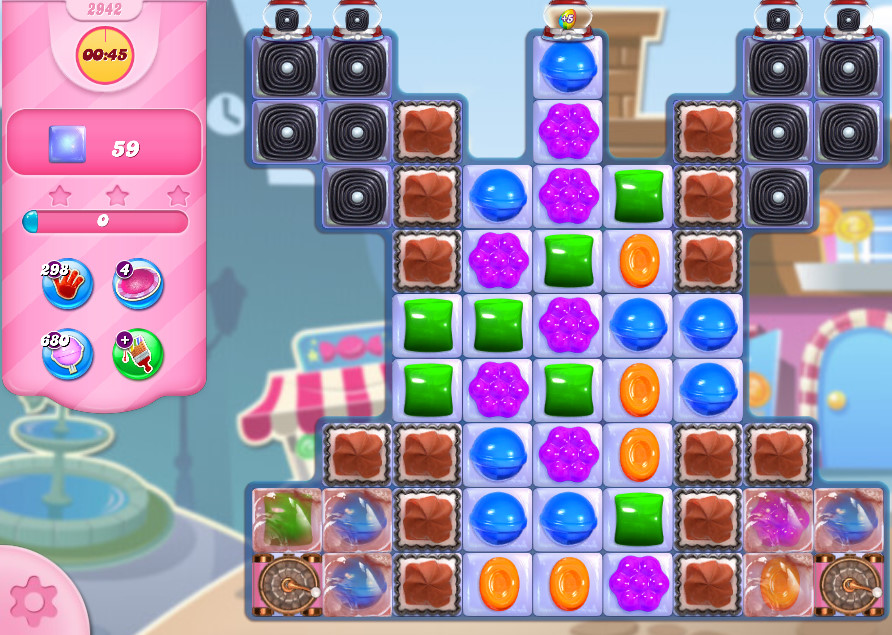 Candy Crush Saga level 2942