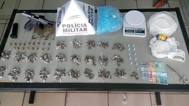 Operação no Palmital prende acusados de tentativa de assassinato e Tráfico de Drogas