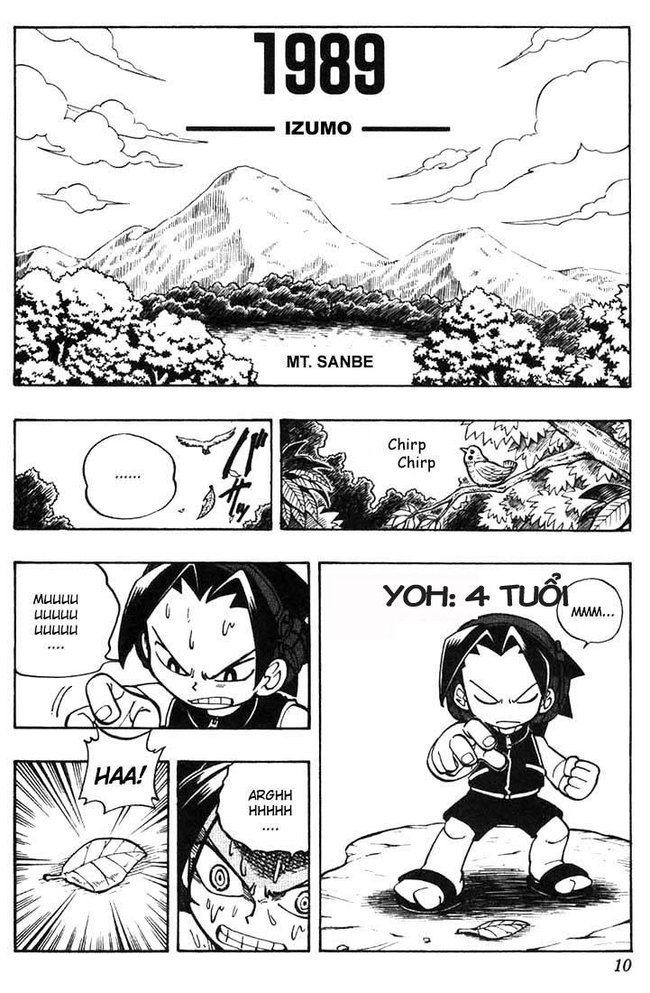 Shaman King [Vua pháp thuật] chap 9 trang 6