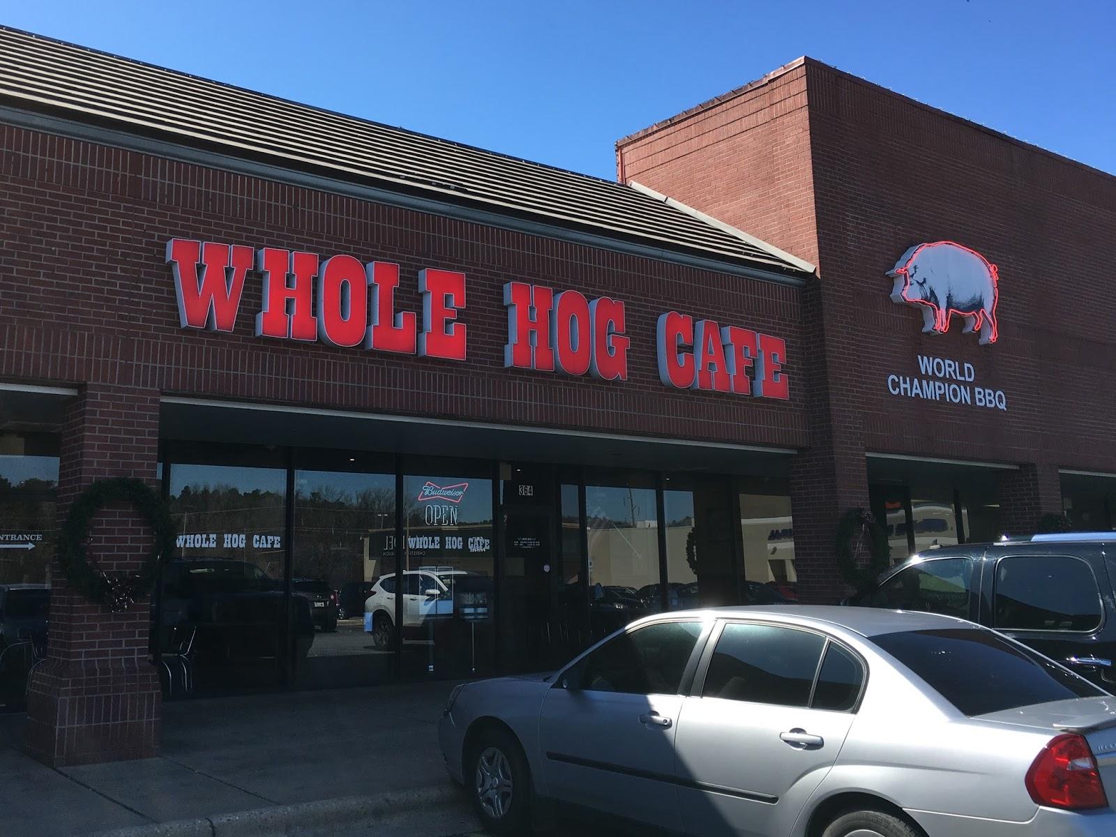 Whole Hog Cafe North Little Rock Ar Menu