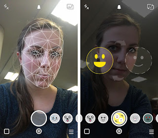 Snapchat faces