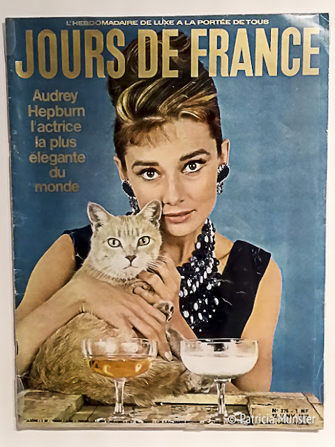 Jours de France - Audrey Hepburn - cover - cat
