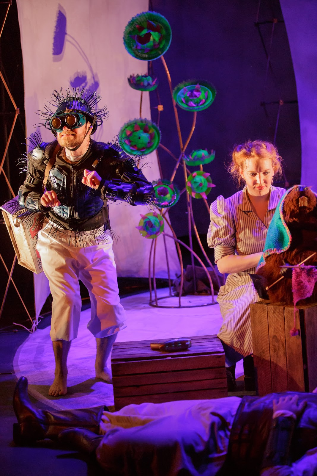 , Breaking News!  The Hunting of The Snark at The Sherman Theatre, Cardiff