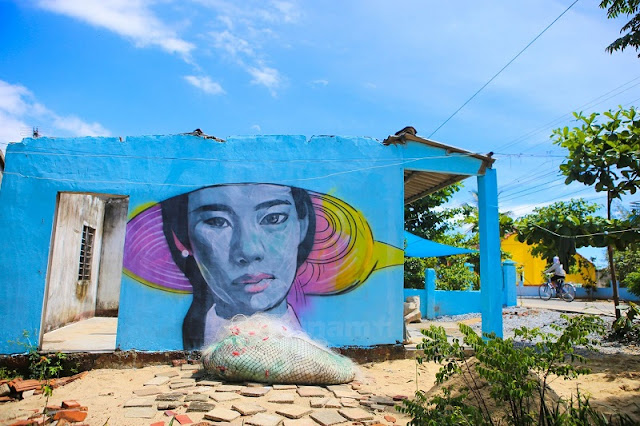 Tam Thanh - the fishing village of murals 1
