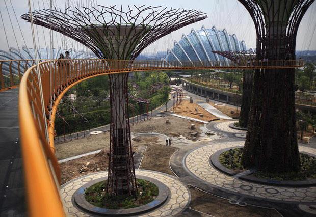 Dise o urbano jardines de la bah a arquitectura y for Los mejores jardines de casas