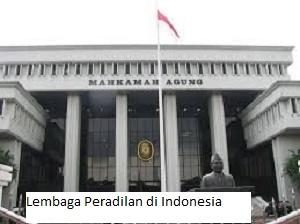 Jenis-Jenis dan Fungsi Lembaga Peradilan Di Indonesia