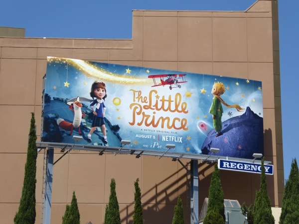 Little Prince movie billboard