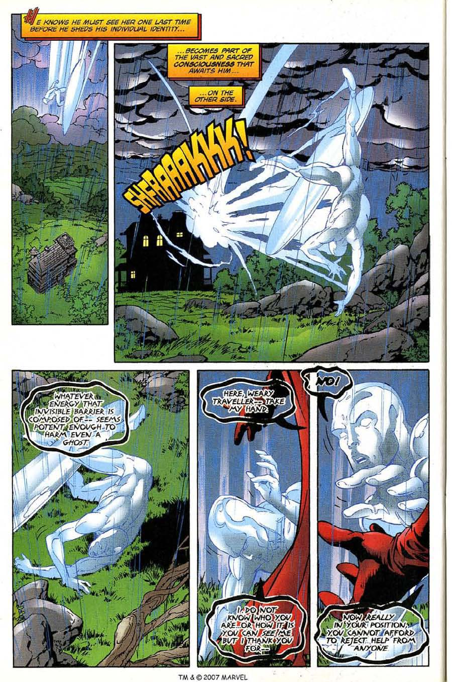 Read online Silver Surfer (1987) comic -  Issue #135 - 34