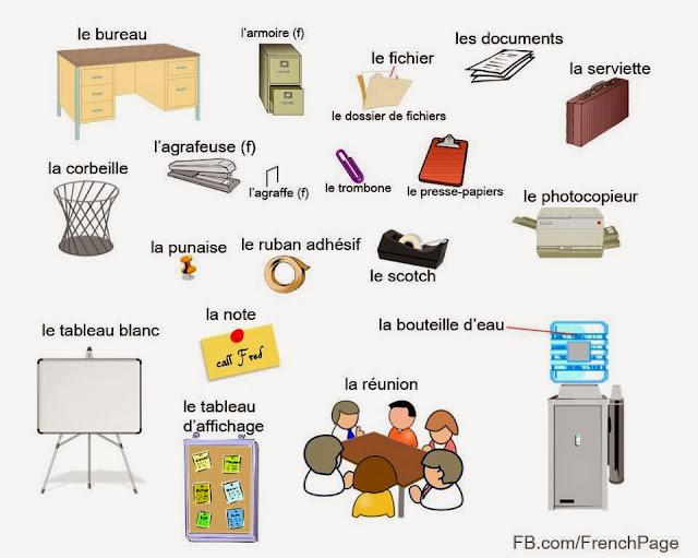 W szkole - słownictwo 8 - Francuski przy kawie