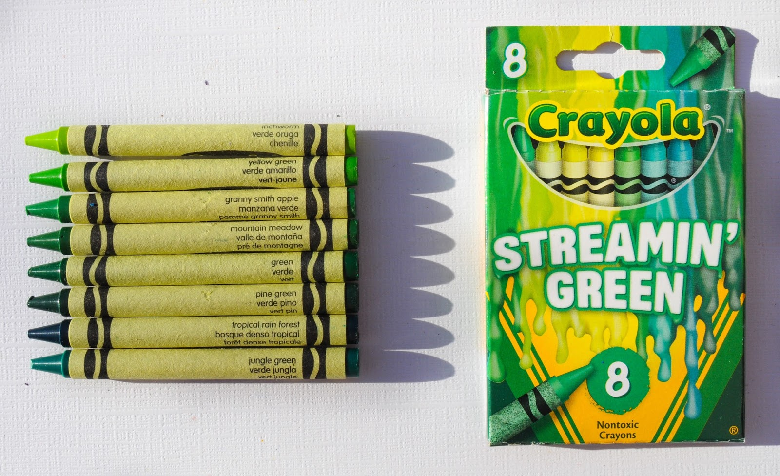 8 Count Crayola Meltdown Crayons: What\'s Inside the Box | Jenny\'s ...