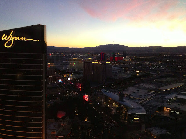 Wynn Las Vegas Hotel and Casino sunset