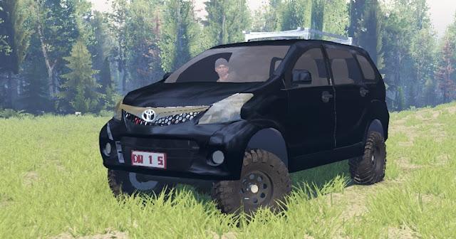 Mod Toyota Avanza Spintires