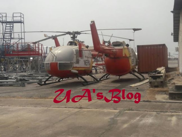 Photo Of Abandoned NEPA Helicopters Rotting Away