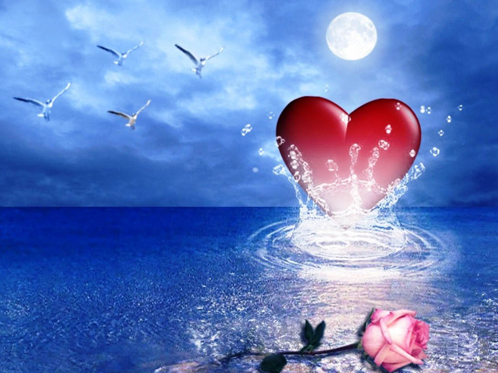 All In One: Love Heart Wallpapers Images Pictures